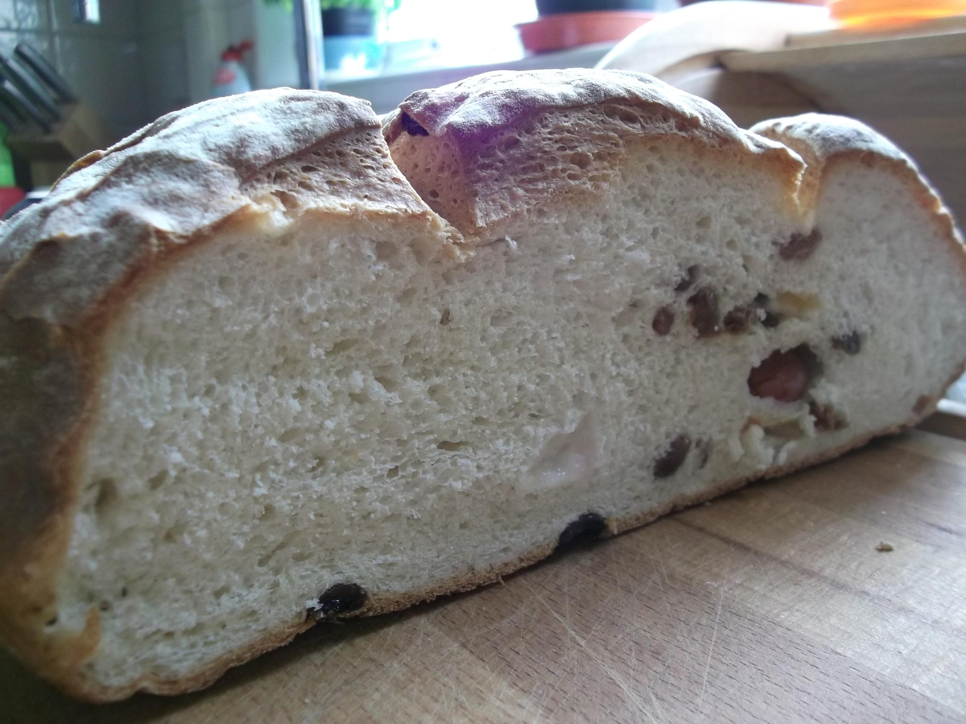 Grape and Sultana Bread
